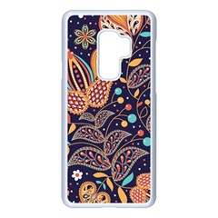 Paisley Samsung Galaxy S9 Plus Seamless Case(white) by Sobalvarro