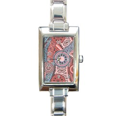 Print Rectangle Italian Charm Watch by Sobalvarro