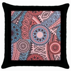 Print Throw Pillow Case (black) by Sobalvarro