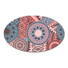 Print Oval Magnet by Sobalvarro