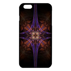 Fractal Cross Blue Geometric Iphone 6 Plus/6s Plus Tpu Case by Pakrebo