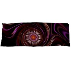 Fractal Waves Pattern Design Body Pillow Case (dakimakura) by Pakrebo