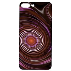 Fractal Waves Pattern Design Iphone 7/8 Plus Soft Bumper Uv Case by Pakrebo