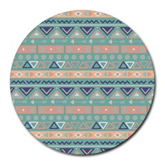 Tribal Round Mousepads