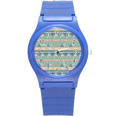 Tribal Round Plastic Sport Watch (s)