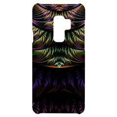 Fractal Colorful Pattern Fantasy Samsung S9 Plus Black Uv Print Case by Pakrebo
