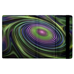 Fractal Pastel Fantasy Colorful Apple Ipad Pro 12 9   Flip Case