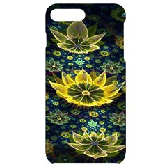 Fractal Undersea Flowers Abstract Iphone 7/8 Plus Black Uv Print Case by Pakrebo