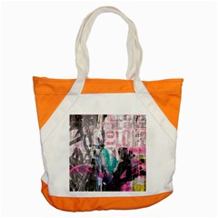Graffiti Grunge Love Accent Tote Bag