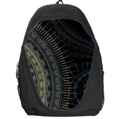 Fractal Spikes Gears Abstract Backpack Bag