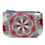 Kaleidoscope Background Bottles Large Coin Purse Front