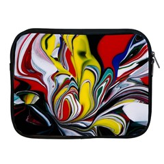 Abstract Colorful Illusion Apple Ipad 2/3/4 Zipper Cases