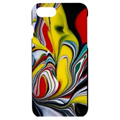 Abstract Colorful Illusion Iphone 7/8 Black Uv Print Case