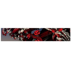 Fractal Flowers Free Illustration Large Flano Scarf