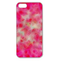 Background Abstract Texture Pattern Apple Seamless Iphone 5 Case (clear)
