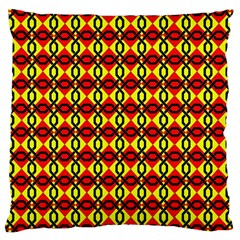 Rby-2-1 Large Cushion Case (two Sides) by ArtworkByPatrick