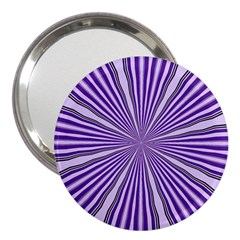 Background Abstract Purple Design 3  Handbag Mirrors