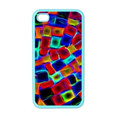 Neon Glow Glowing Light Design Iphone 4 Case (color) by Pakrebo