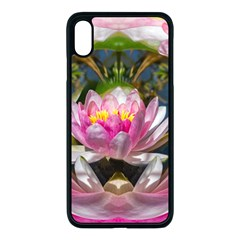 Flower Ornament Color Background Iphone Xs Max Seamless Case (black) by Pakrebo