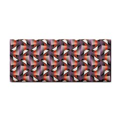 Pattern Abstract Fabric Wallpaper Hand Towel by Pakrebo