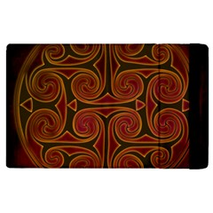 Celtic Spiritual Pattern Art Apple Ipad 2 Flip Case by Pakrebo
