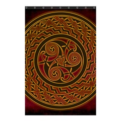 Celtic Spiritual Pattern Art Shower Curtain 48  X 72  (small)
