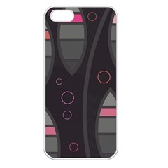 Background Blacks Pinks Iphone 5 Seamless Case (white)