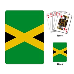 Jamaica Flag Playing Cards Single Design (rectangle) by FlagGallery