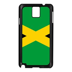 Jamaica Flag Samsung Galaxy Note 3 N9005 Case (black) by FlagGallery