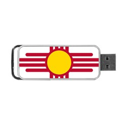New Mexico Flag Portable Usb Flash (one Side) by FlagGallery