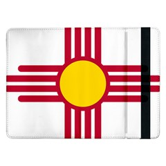 New Mexico Flag Samsung Galaxy Tab Pro 12 2  Flip Case by FlagGallery