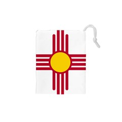 New Mexico Flag Drawstring Pouch (xs) by FlagGallery