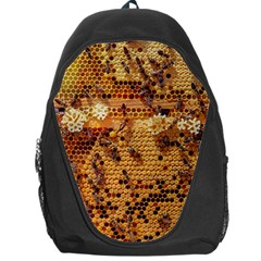 Bees Nature Animals Honeycomb Backpack Bag
