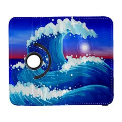 Japanese Wave Japanese Ocean Waves Samsung Galaxy S  Iii Flip 360 Case