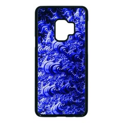 Rich Blue Digital Abstract Samsung Galaxy S9 Seamless Case(black)