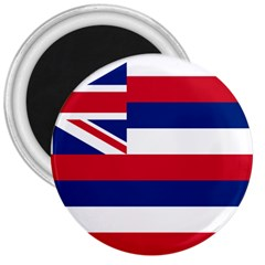 Flag Of Hawaii 3  Magnets by abbeyz71