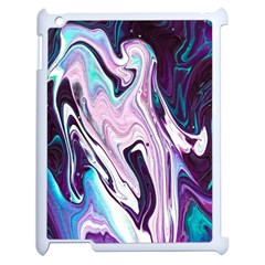 Color Acrylic Paint Art Painting Apple Ipad 2 Case (white)