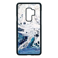 Paint Acrylic Paint Art Colorful Samsung Galaxy S9 Plus Seamless Case(black) by Pakrebo