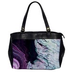Color Acrylic Paint Art Painting Oversize Office Handbag Front