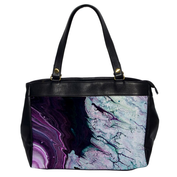 Color Acrylic Paint Art Painting Oversize Office Handbag