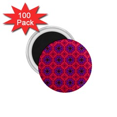 Retro Abstract Boho Unique 1 75  Magnets (100 Pack)