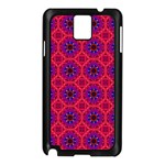 Retro Abstract Boho Unique Samsung Galaxy Note 3 N9005 Case (Black) Front