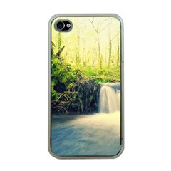 Waterfall River Nature Forest Iphone 4 Case (clear)