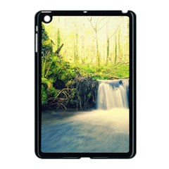 Waterfall River Nature Forest Apple Ipad Mini Case (black)