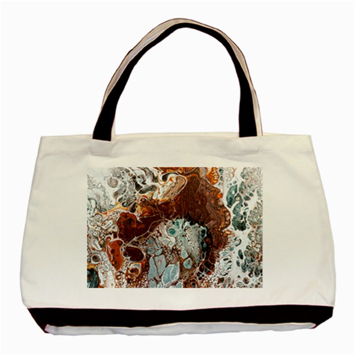 Paint Acrylic Paint Art Colorful Basic Tote Bag