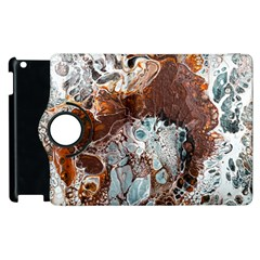 Paint Acrylic Paint Art Colorful Apple Ipad 2 Flip 360 Case