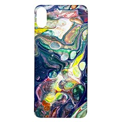 Paint Acrylic Paint Art Colorful Iphone X/xs Soft Bumper Uv Case by Pakrebo