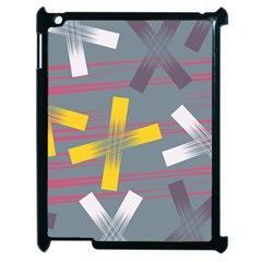 Background Abstract Non Seamless Apple Ipad 2 Case (black)