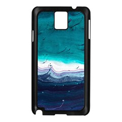 Color Acrylic Paint Art Painting Samsung Galaxy Note 3 N9005 Case (black)