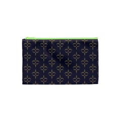 Background Non Seamless Pattern Cosmetic Bag (xs)